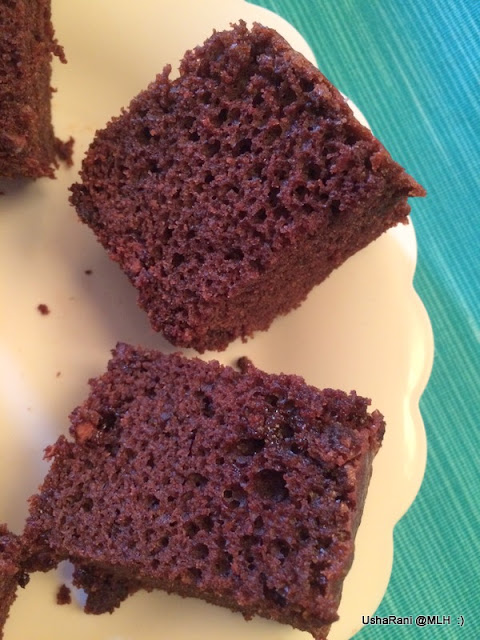 Simple Eggless Sponge Cake Recipe In Microwave