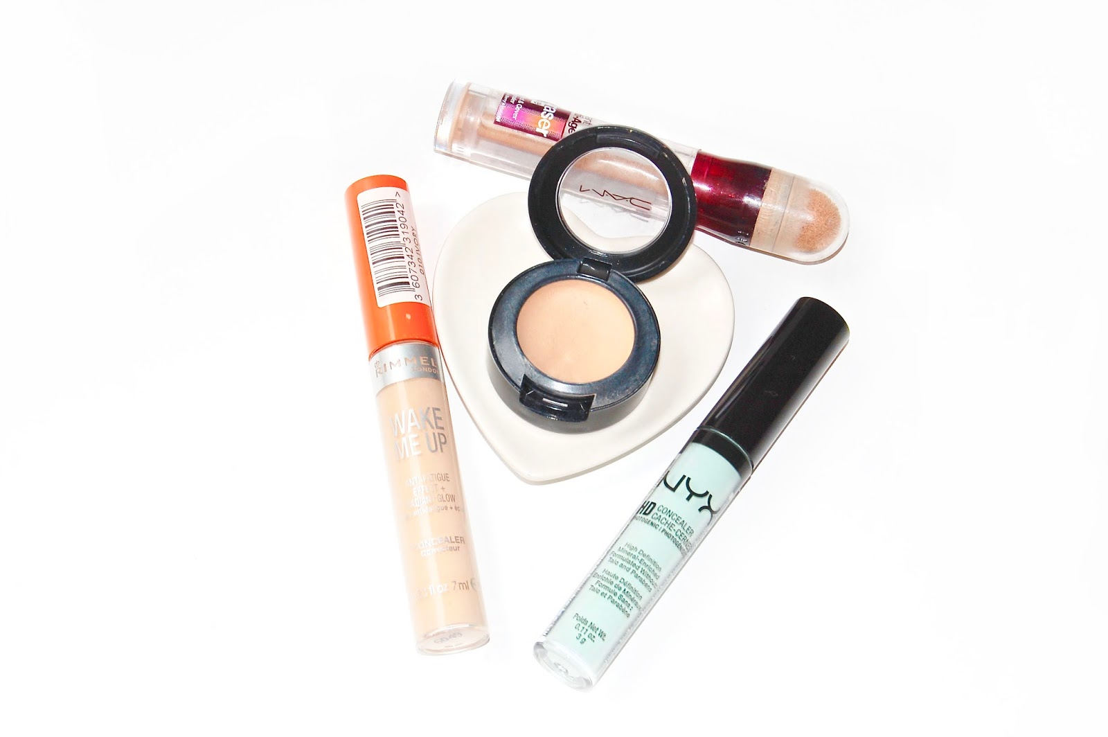 See my favourite concealers from NYX, Rimmel, Maybelline and Mac!