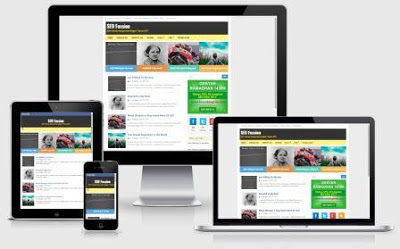 SEO Fussion Blogger Template Template Blog Terbaik untuk Daftar Google AdSense Full Approve Terbaru 2018