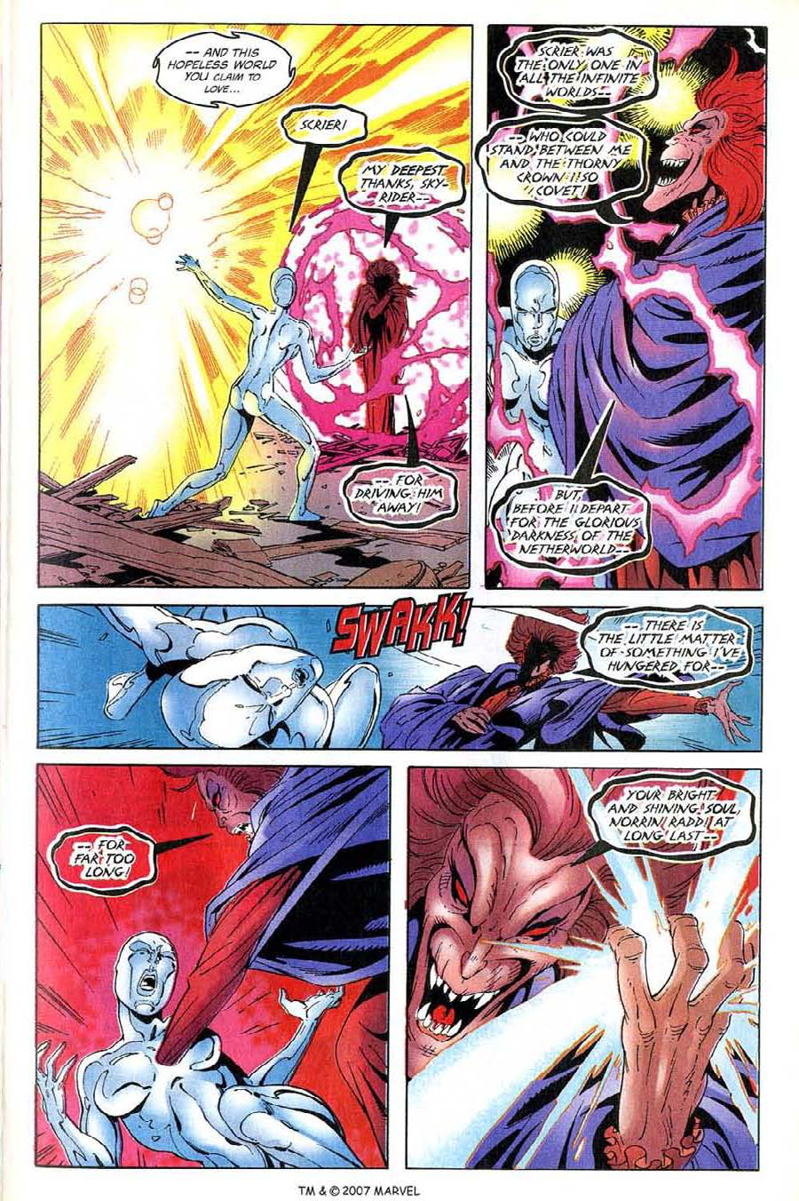 Read online Silver Surfer (1987) comic -  Issue #137 - 13