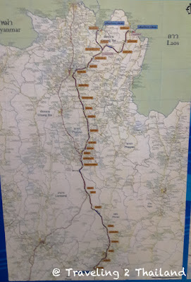 Planning train line to Chiang Rai, Thailand