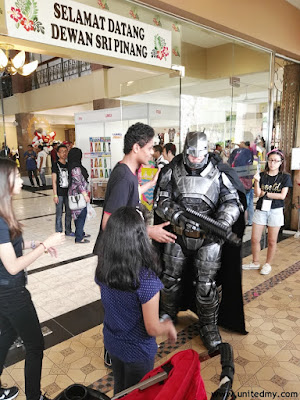 Batman cosplay was at PAM 2016