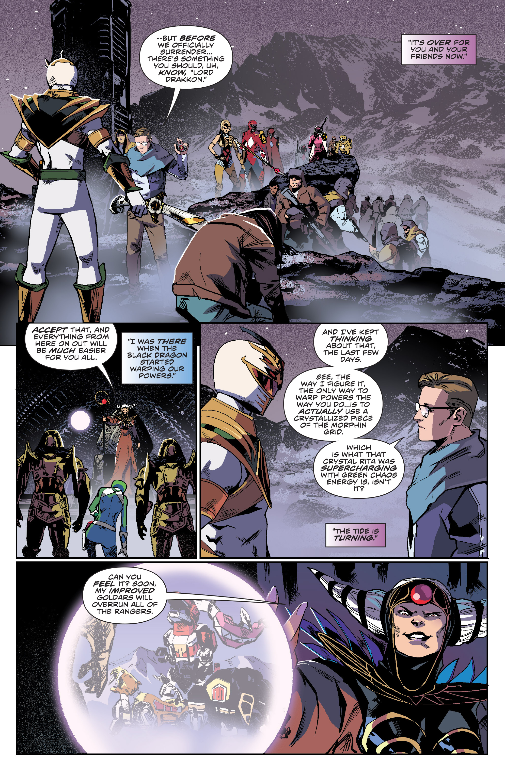 Read online Mighty Morphin Power Rangers comic -  Issue #16 - 3