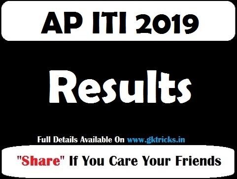 AP ITI Result 2019