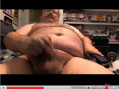 grandfather penis jerking off