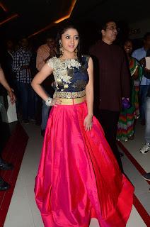 Shriya Sharma At Nirmala Convent Movie Preview Show %285%29.JPG