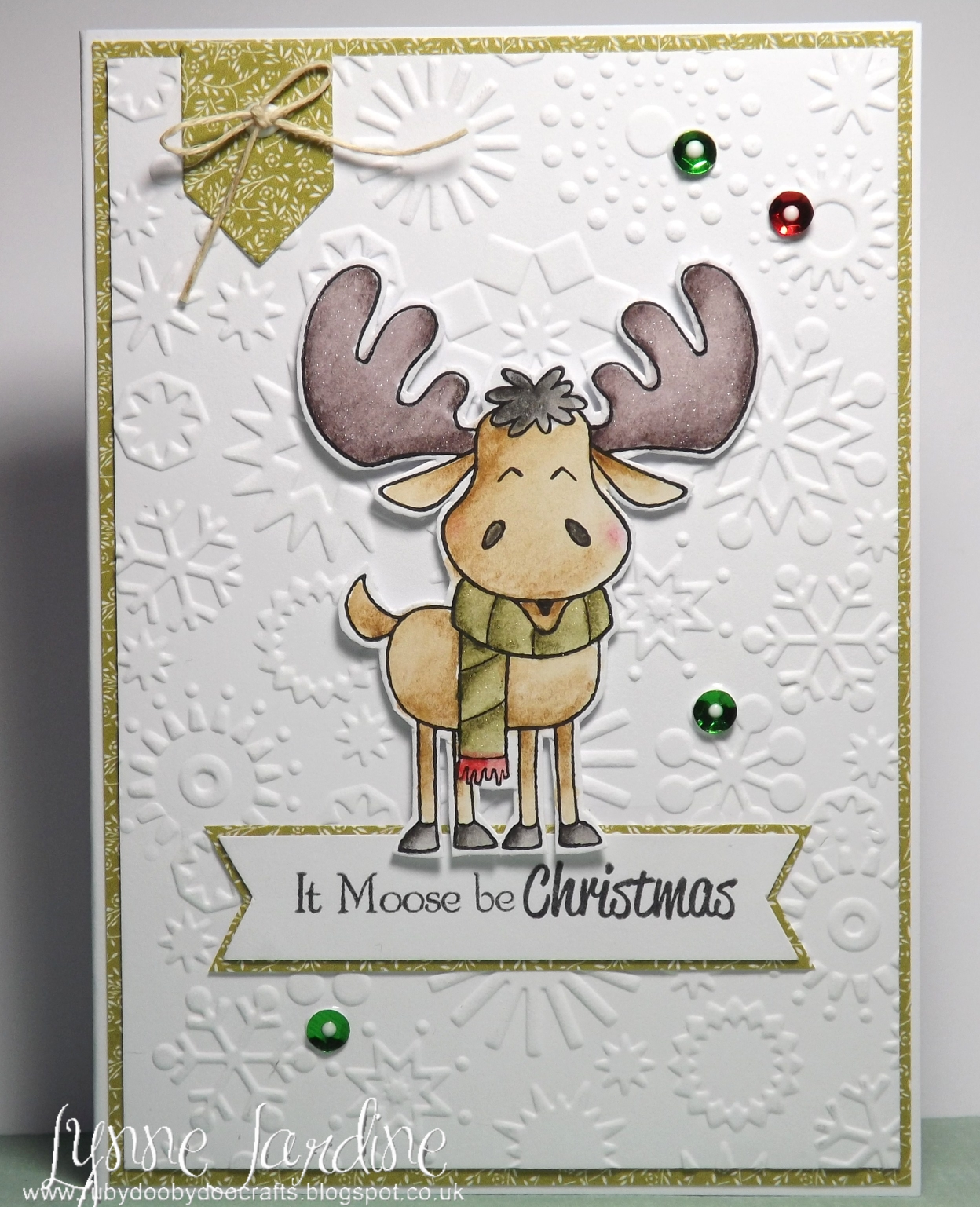 Ruby-Dooby-Doo Crafts: It Moose be Christmas