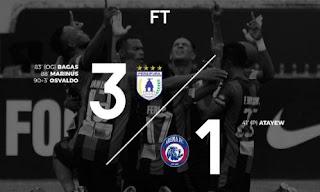 Persipura Kalahkan Arema FC 3-1
