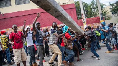 Tensión en Haití tras protesta multitudinaria contra el presidente del país Jovenel Moise
