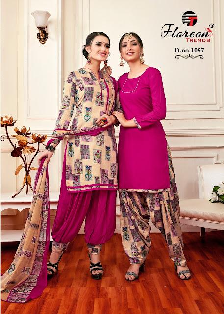 Jassi Patiyala vol 6 Floreon trendz punjabi Salwar Suits