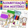 Alfabetização sem mistério: Apostilas completas para professor