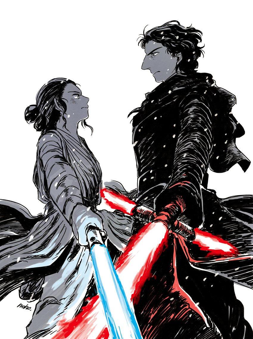 Ren kontra Rey w Gwiezdnych Wojnach