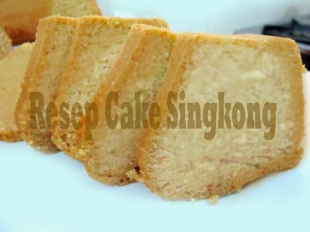 Resep Cake Singkong Panggang