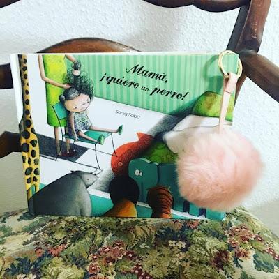 que estás leyendo,album ilustrado, libros 2018, cuento infantil, Mamá quiero un perro, sonia saba,