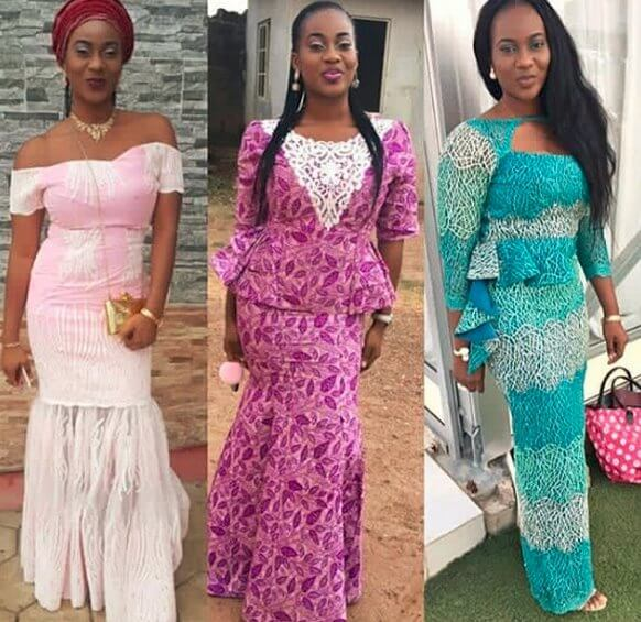 Aso ebi Styles ,The Weekend ,