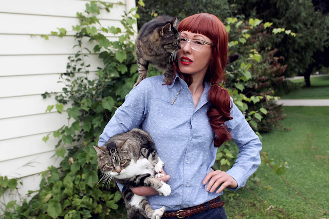 http://luckylucille.com/2014/08/western-chambray-archer-now-with-75-more-cats/
