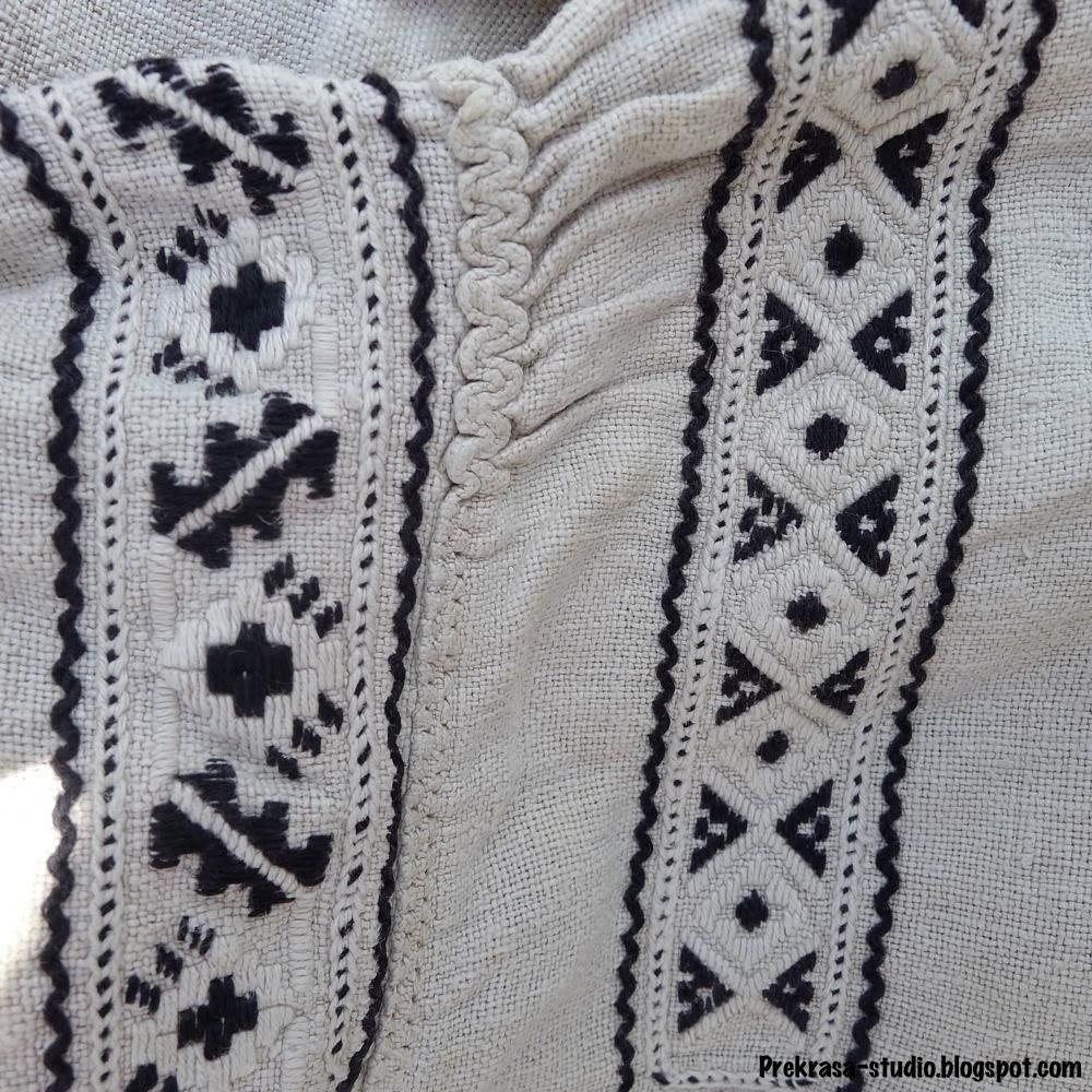 геомтричний орнамент схеми жиночоъ сорочки