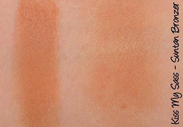 Kiss My Sass Suntan Bronzer Swatches & Review