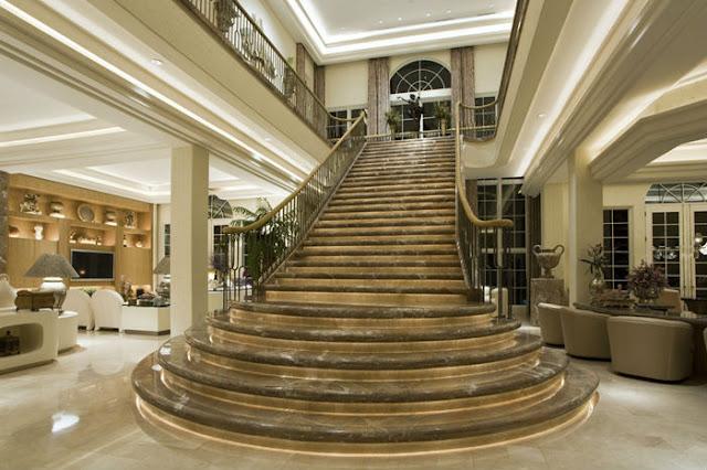 Cầu thang cho biệt thự - mẫu số 5