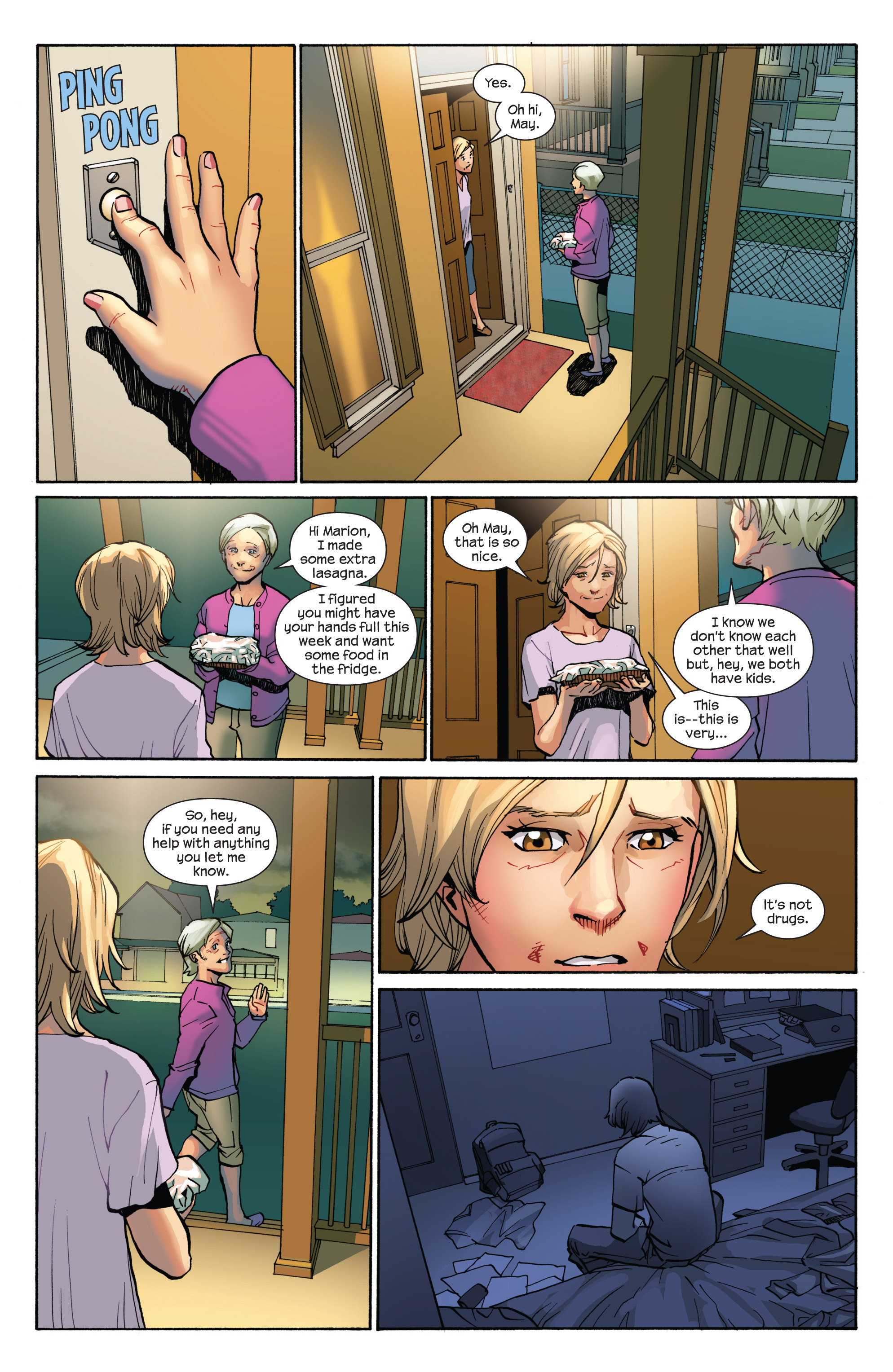 Read online Ultimate Spider-Man (2009) comic -  Issue #7 - 10
