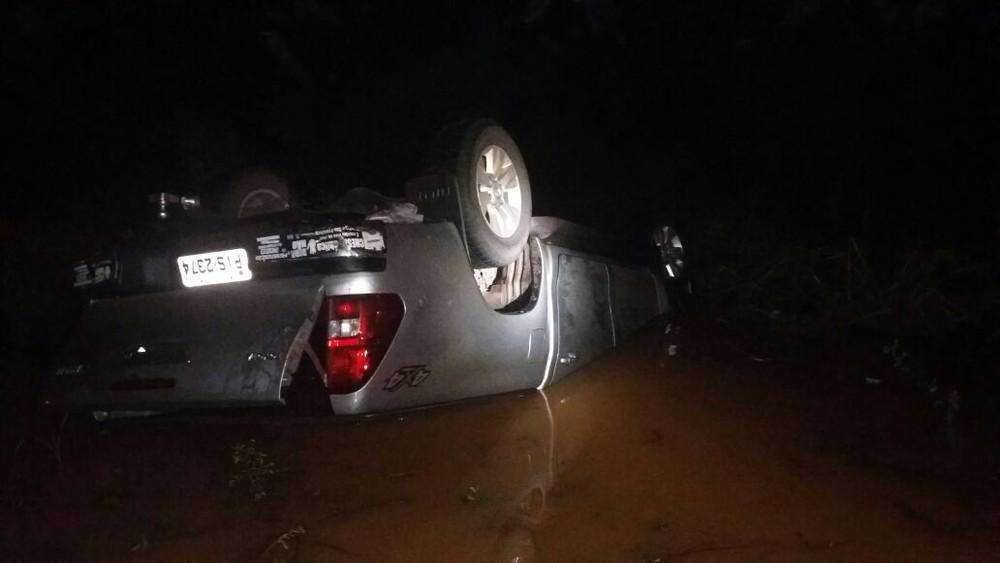 Sindicalista morre afogado dentro de carro em acidente na BR-135