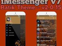 iMessenger V7 Batik Theme Base BBM V3.0.1.25
