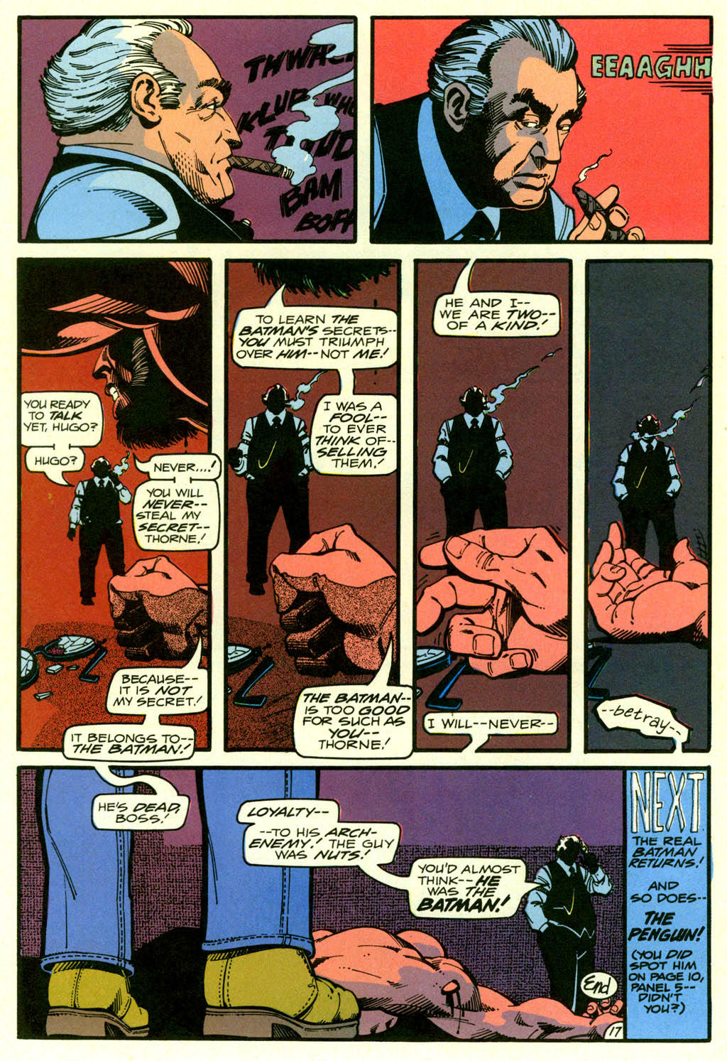 Read online Shadow of the Batman comic -  Issue #2 - 37