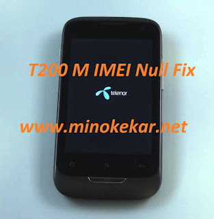 Telenor T200M IMEI Null Fix Backup File Ready To write with mtk droidtool .(67)KB