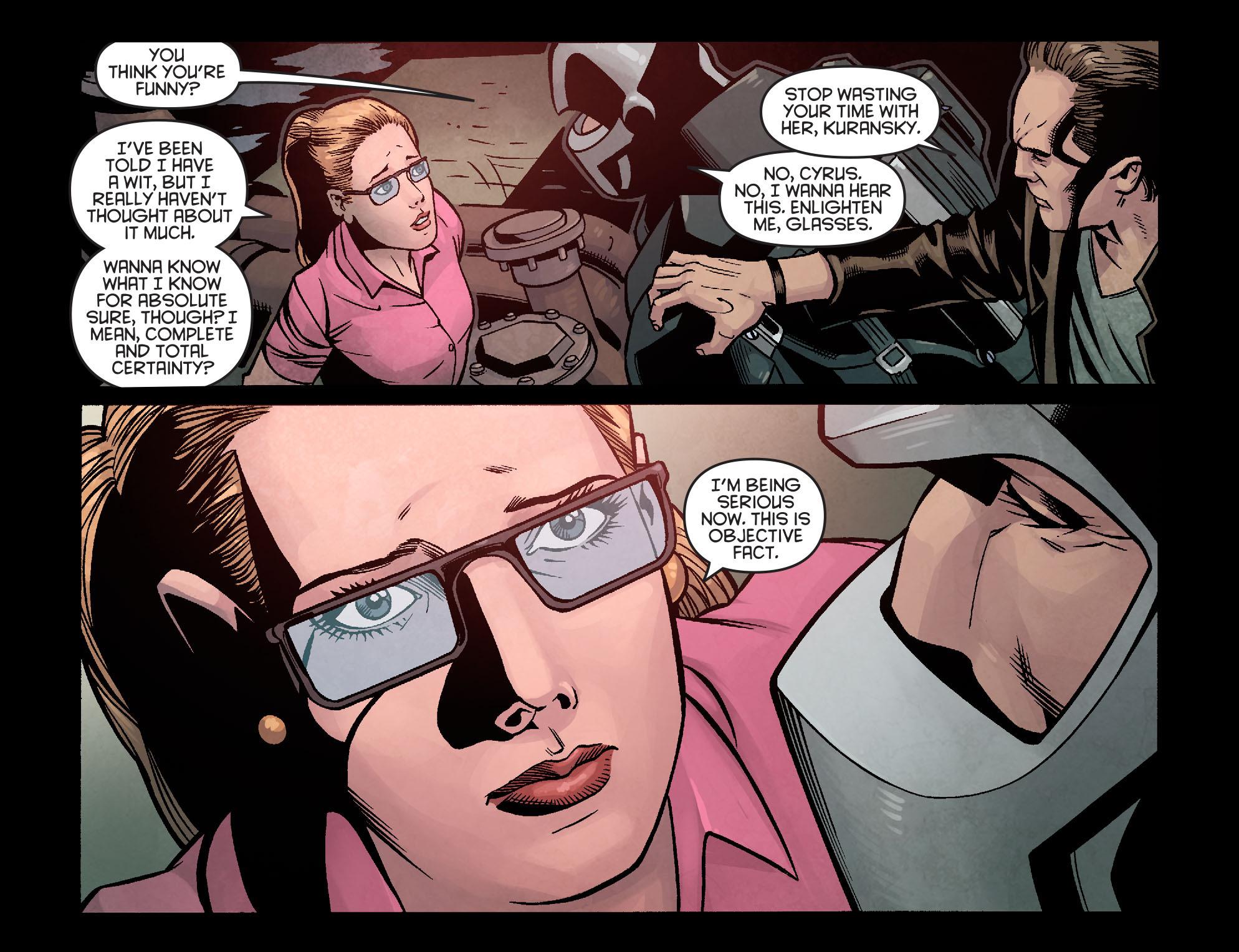 Read online Arrow: Season 2.5 [I] comic -  Issue #14 - 13