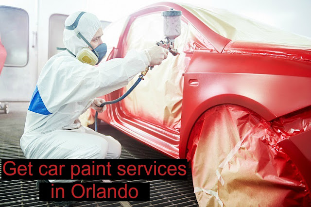 Car paint services at Toyota of Orlando