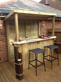barra bar mini jardin