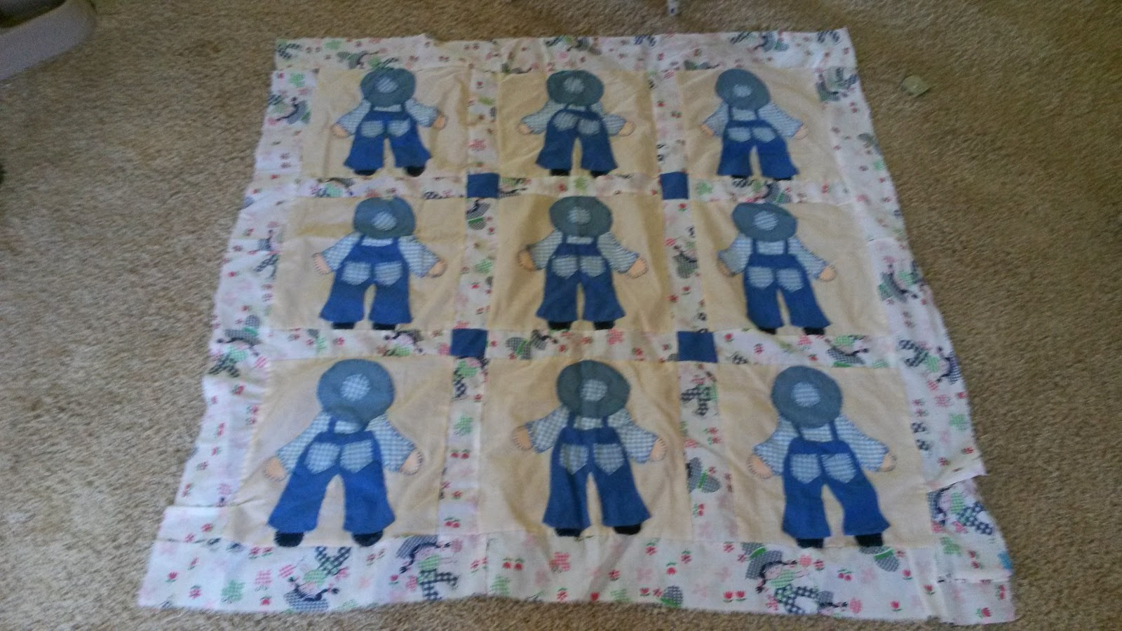 More Whine Please: Dutch Boy Baby Quilt Pattern