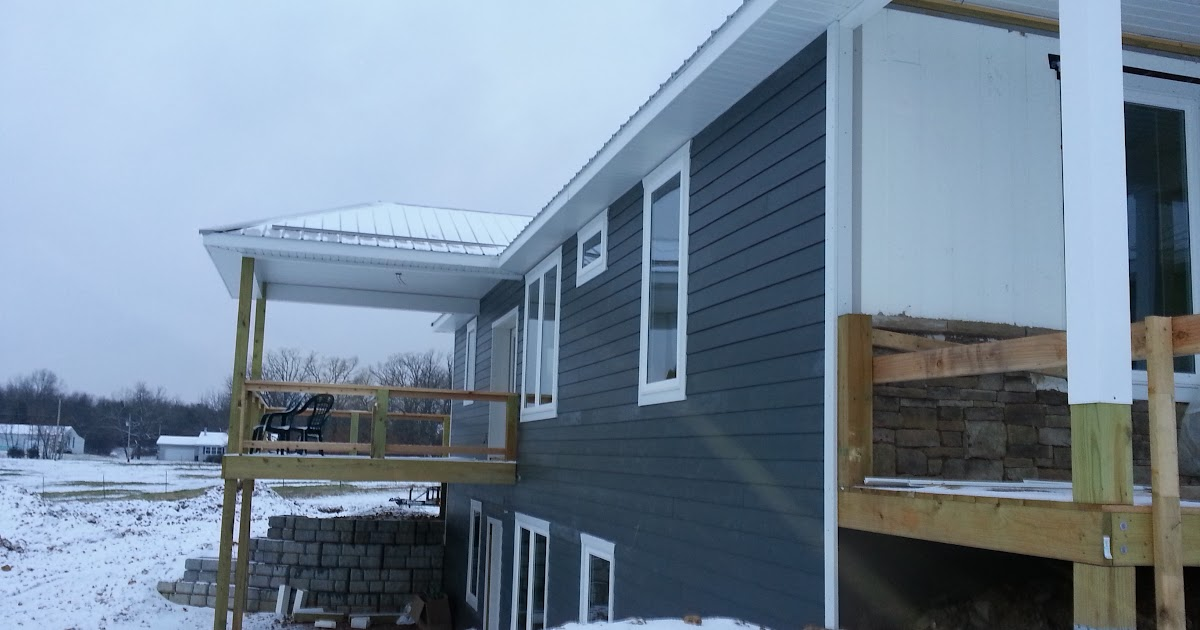 Insulated Concrete Forms Tf Systems House Siding Is Done