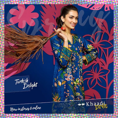 Khaadi Turkish Kurta Collection 2017 for Summer