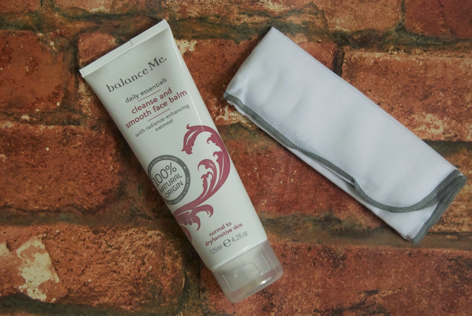 balance me cleanse & smooth face balm review