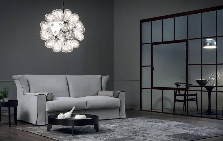 modern italian contemporary furniture design. A Contemporary Sofa Bed With An Unusual Design But Which Holds All Of The Characteristics Our Modern Beds: It Comes In Very Different Fabrics Italian Furniture N