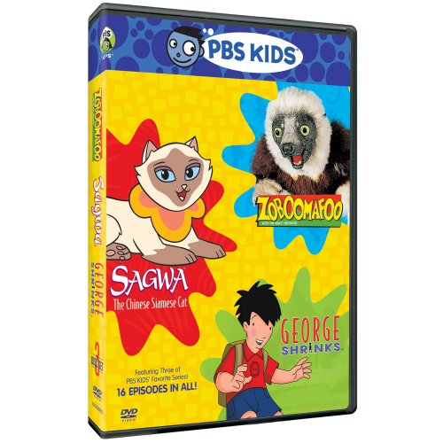 PBS Kids Pack (Zoboomafoo / Sagwa, The Chinese Siamese Cat / George