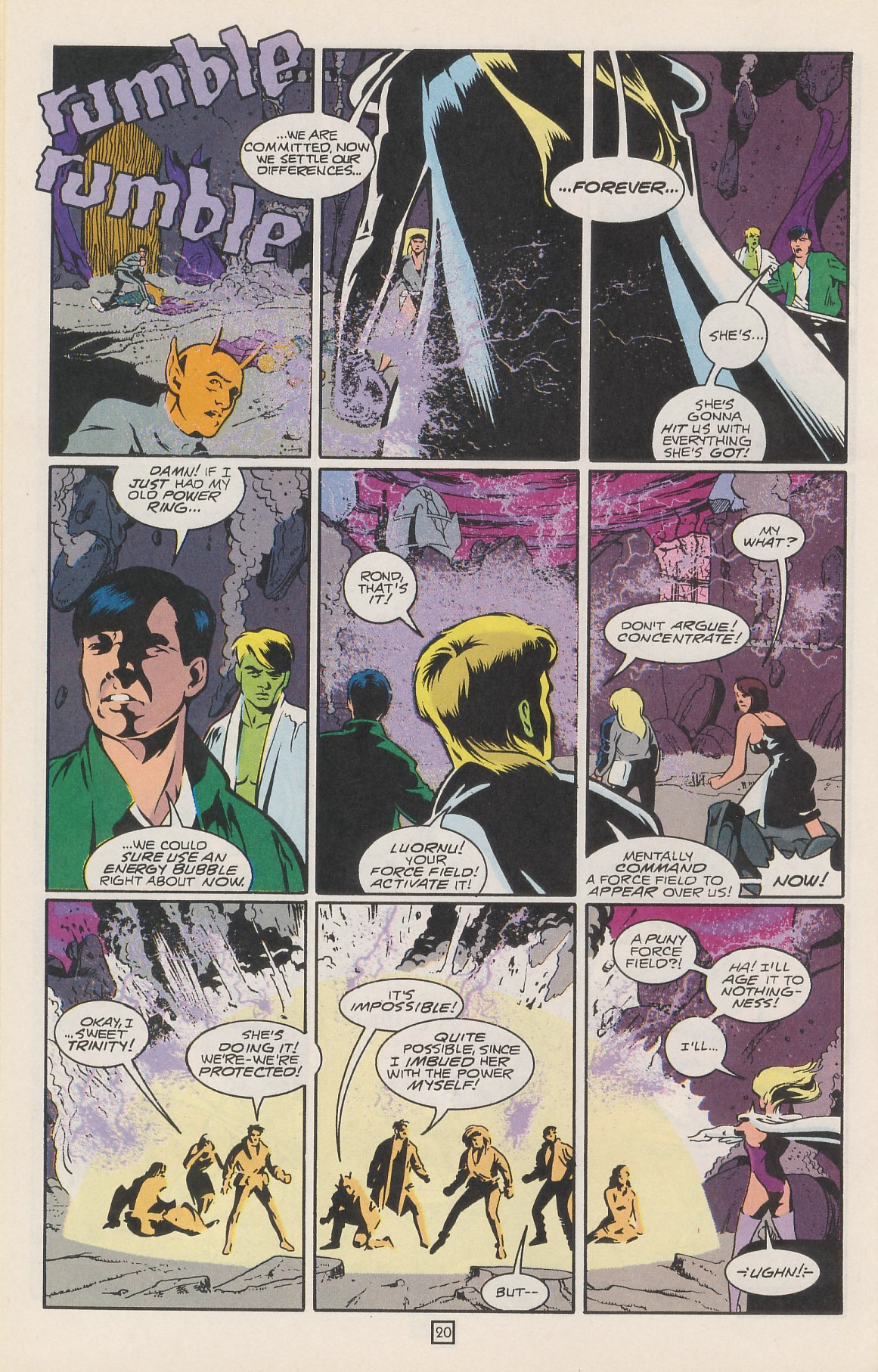 Legion of Super-Heroes (1989) 42 Page 23