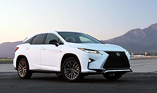 2018 Lexus Rx 350 F Sport Price Specs Review Interior Toyota