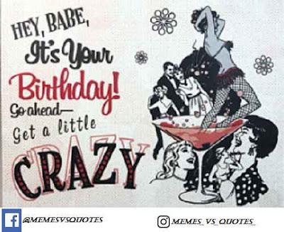 Get a little crazy