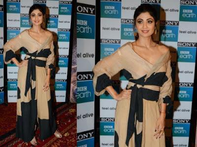 actress-shilpa-shetty-1st-anniversary-celebration-sony-bbc-earth