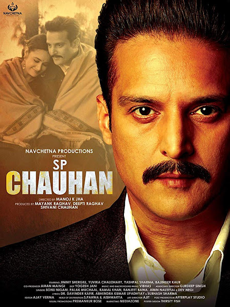 Poster of S.P. Chauhan (2018) Full Movie Hindi 720p HDRip Free Download