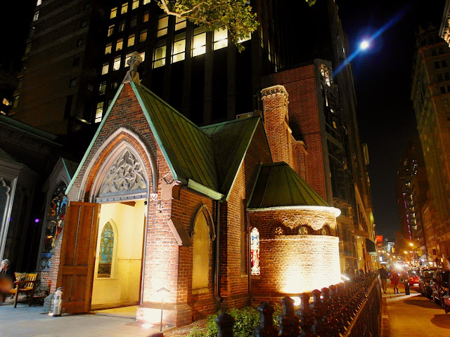 New York, The Church of the Transfiguration