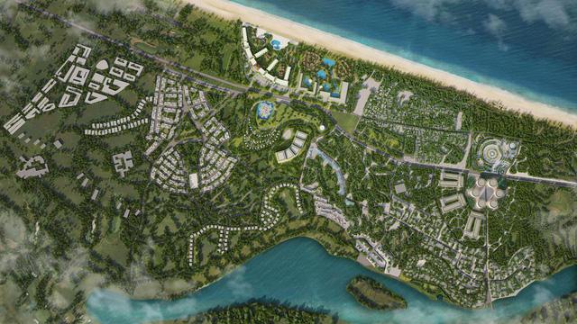 Mặt bằng dự án 400ha của New Hoi An City.