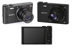 Sony Cyber-shot DSC-WX350 RESMI SONY / kamera poket sony wx350