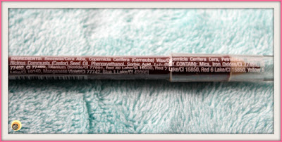 Wet n Wild Color Icon Chestnut/Marron E711 Lip Liner Ingredients