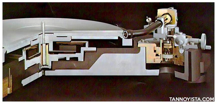 Cutaway of the TRIO KENWOOD L-07D Turntable - Tannoyista.com