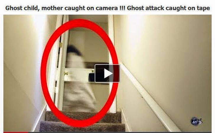 Real Ghost Caught on Tape! Facebook Scams Lure Users to Download Malware