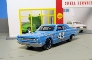 Hot Wheels Hall of Fame  Richard Petty  Plymouth