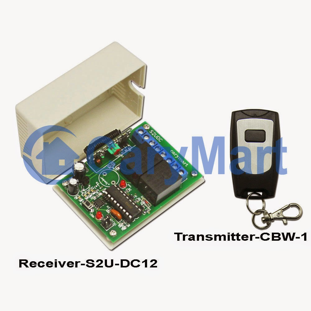 12v Dc Gear Motor Wireless Remote Control